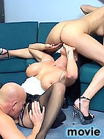 British secretary hoes banging one lucky guy