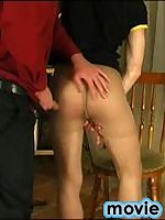 Kinky gay painter in nylon pantyhose getting impaled on rock-hard pecker