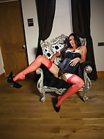 Would you like alongside come vulnerable my nylons? Come and lay eyes on the how much I love it. I each time get soaked thinking of hot spunk squirting onto my stocking tops
